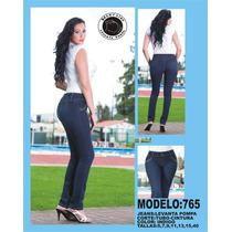Jeans Dama Levanta Pompa! Colombiano! Todas Las Tallas