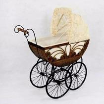 Carreola Para Muñecas Tipo Antigua Bimbre Baby Shower