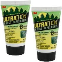 3m Ultrathon Srl-12 2 Oz Loción Repelente De Insectos - 2 Pa