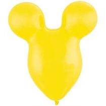 2 Orejas De Mickey Mouse Head 15 Brillante Partido Látex Am