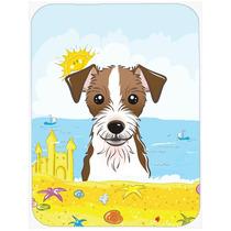 Jack Russell Terrier De Verano La Playa De Cristal Tabla De