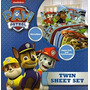 Juego De S�banas De Nickelodeon Nick Jr. Paw Patrol 3pc Geme
