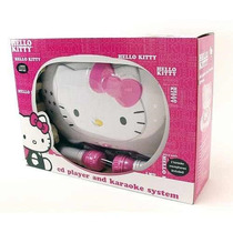 Hello Kitty Cd Karaoke System & Cd Player Sanrio