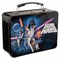 Lonchera Metalica Star Wars Saga Para Almuerzo Retro Lunch