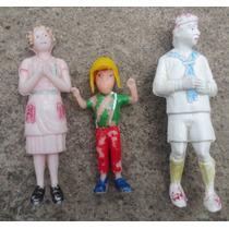 Antiguas Figuras De El Chavo Del 8, Quico Y Doña Florinda
