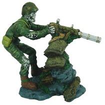 Soldado Con Metralleta Mediano.
