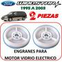 95-03 Ford Windstar Engrane Motor Vidrio Electrico 2 Piezas