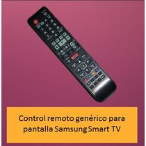 Control Para Pantalla Samsung Smart Tv