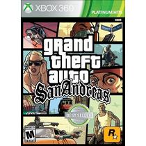 Gran Theft Auto San Andres Para Xbox360 Best Seller Original
