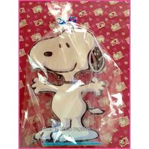 Snoopy Porta Vela Para Pastel De Madera