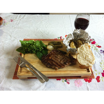 Tabla Plato Madera Para Picar Maki, Sushi Carnes 24 X 35