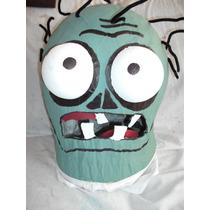 Mascara De Plantas Contra Zombies