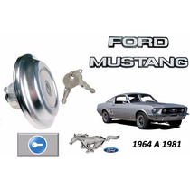 64-81 Ford Mustang Tapon De Gasolina Con Llaves