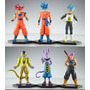 Figuras Dragon Ball Batalla Dioses Bills Goku Vegeta Dios