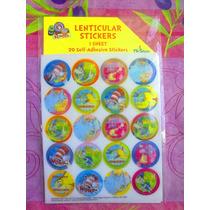 The Cat Dr. Seuss Set De Stickers Redondos Lentriculares