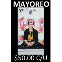 Blusa Dama Rottwear Mayoreo Tank Top Frida Kahlo
