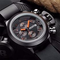 Reloj Deportivo Moderno Megir Cronometro Fechador Metalico