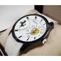 Reloj . F E R R A R I . Nuevo Acero/caucho Kbgb1