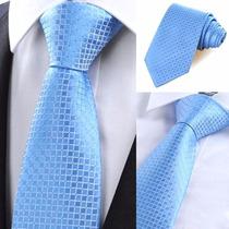 Corbata De Seda Caballero Casual Hombre Elegante Cuadros