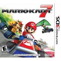 Mario Kart 7 Nintendo 3ds 3ds Xl 2ds