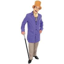 Willy Wonka Traje - Propietario Victoriana Fábrica Grandes: