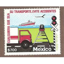 Estampilla Transportes Barco Avión Tren 1991 Mn4