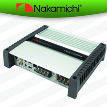 Amplificador Nakamichi Ngta602 Set De Medios 2 Canales 2500w