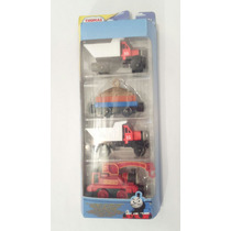 Tren De Thomas And Friends Metalico Take N Play (4 Pack)