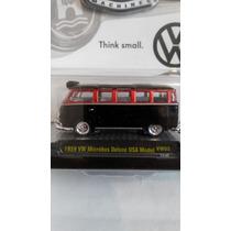 1959 Vw Microbus Deluxe Usa Model M2 Machines Escala 1/64