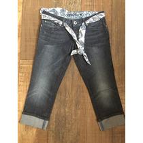 Jeans Capri Guess Original Talla 28 100% Original
