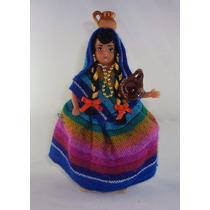 Muñeca Con Traje Típico De El Estado De Mexico