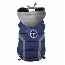 Nfl Tennessee Titans Chaleco Para Perro Puffer Mediano