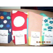 Calcetines De Algodon Peinado De La Famosa Marca Happy Socks