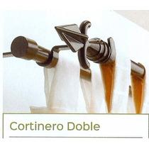 Cortineros Metálicos Extendibles Dobles 1.00m Hasta 1.80m