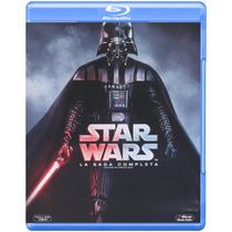 Star-wars Trilogia Películas, Saga Completa En Blu-ray.