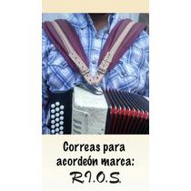 Correas Para Acordeón Con Back Strap Envío Gratis Colores