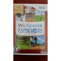 Wii Sport Nintendo Select Wii Nuevo Sellado Original