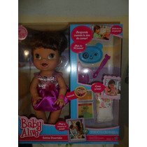 Muñeca Interactiva Baby Alive Bebita Divertida