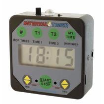 Temporizador Y Cronometro Entrenador Con Salida Para Sonido
