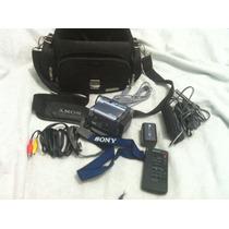 Camara Sony Dcr Tvr19 Con Accesorios