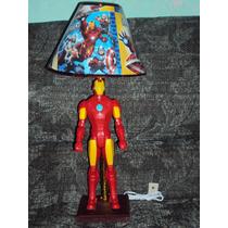 Lampara De Iron Man Avengers Frozen Cars Peppa Minions Spid