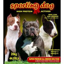 Croqueta Sporting Dog- Atletas, 30% Proteína 20% Grasa 20kg