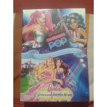 Barbie Campamento Pop Y La Princesa Y La Estrella De Pop Dvd