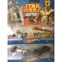Hot Wheels 4 Carritos Star Wars