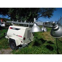 23) Torre De Luz Terex Al4000 Con Generador De 6 Kw