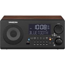 Radio Reloj Sangean Wr-22wl Am/fm-rds/bluetooth/usb