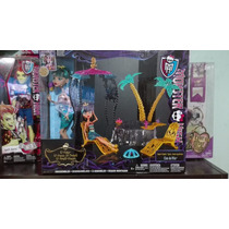 Cleo Set Oasis 13 Deseos Monster High Draculaura Ghoulia