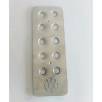 Pedal Muerto Logo Vw Descansapie Aluminio Troquelado