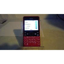 Celular Nokia Asha 210.5 Facebook Whatsapp Radio Fm Cam Rojo