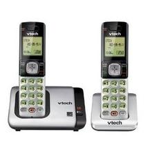 Vtech Cs6719-2 Dect 6.0 Teléfono Con Identificador De Llamad